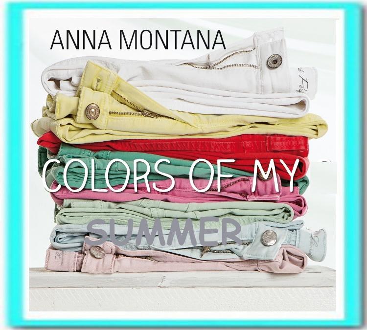 Collectie damesmode Anna Montana jeans